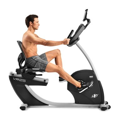 NordicTrack Commercial VR25 Recumbent Exercise Bike 2020 - In Use