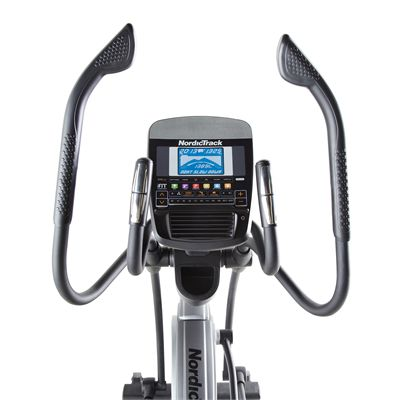 NordicTrack E9.5 Elliptical Cross Trainer 2014 Console View