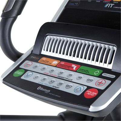 NordicTrack Elite 11.0 Elliptical Cross Trainer-Console Angle View