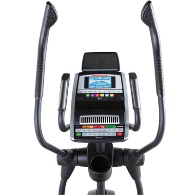 NordicTrack Elite 11.0 Elliptical Cross Trainer-Console Front View