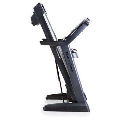 NordicTrack Elite 2500 Treadmill - Folded View