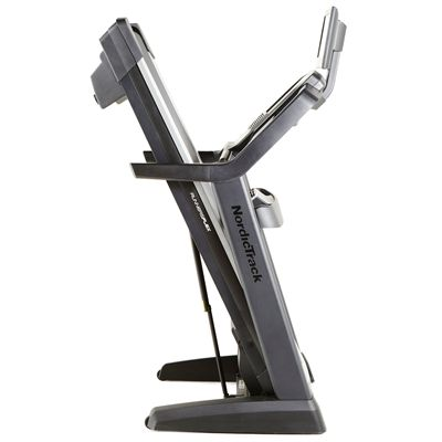 NordicTrack Elite 4000 Treadmill - Folded