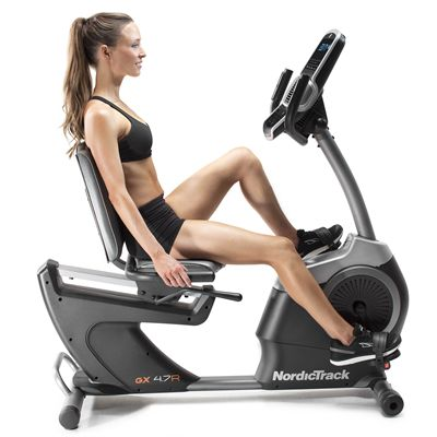 NordicTrack GX 4.7R Recumbent Exercise Bike - Lifestyle2