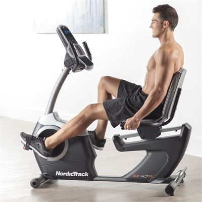NordicTrack GX 4.7R Recumbent Exercise Bike - Lifestyle