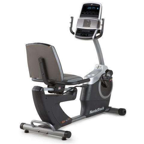 NordicTrack GX 4.7R Recumbent Exercise Bike