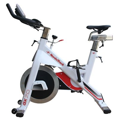 NordicTrack GX 7.0 Indoor Cycle - White - Side