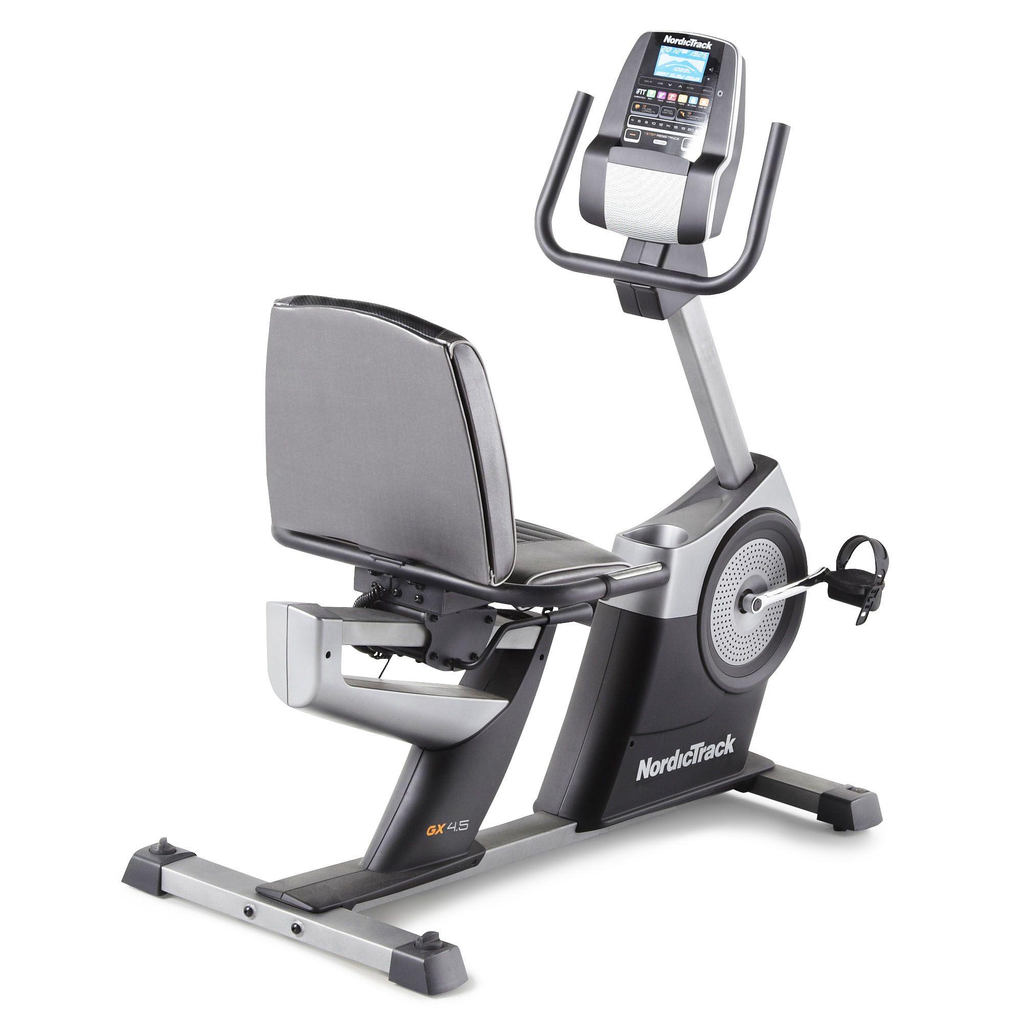 nordictrack gxr 4 2 recumbent exercise bike. Black Bedroom Furniture Sets. Home Design Ideas