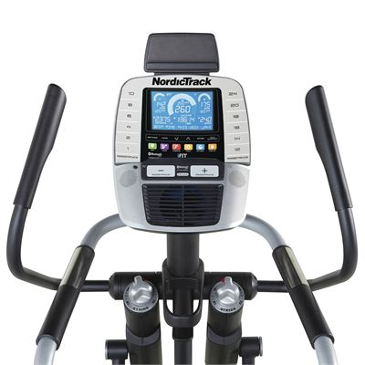 NordicTrack A.C.T. Commercial Elliptical Cross Trainer - Console