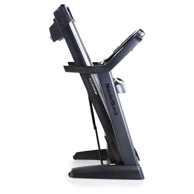 NordicTrack Elite 2500 Treadmill - Folded