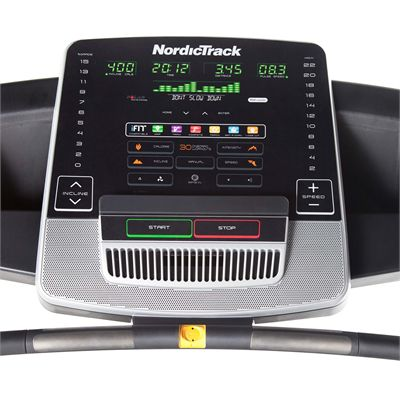 NordicTrack T14.2 Treadmill - screen