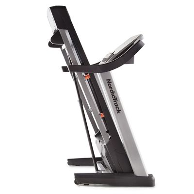 NordicTrack T14.2 Treadmill - folded view