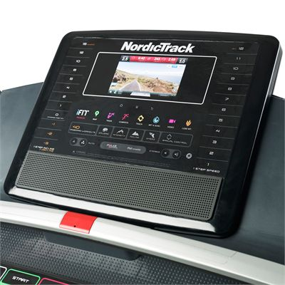 NordicTrack T22.5 Treadmill Close Console View