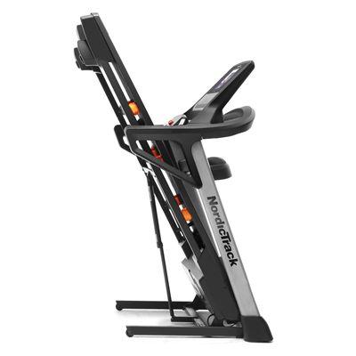 NordicTrack T8.5S Treadmill - Folded