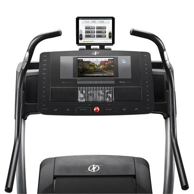 NordicTrack X11i Incline Trainer - Console