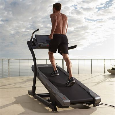 NordicTrack X22i Incline Trainer - In Use