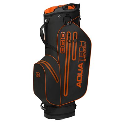 Ogio Aquatech Lite Golf Cart Bag - Black/Orange