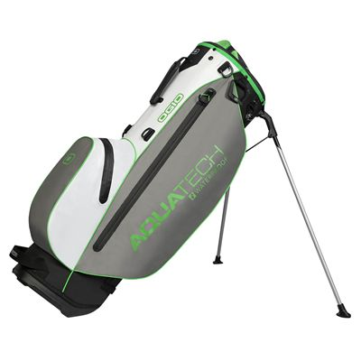Ogio Aquatech Lite Golf Stand Bag - White/Grey