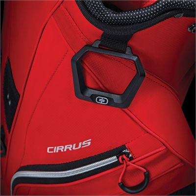 Ogio Cirrus Golf Cart Bag - Red - Zoomed