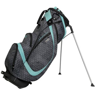 Ogio Featherlite Luxe Golf Stand Bag - Black/Blue