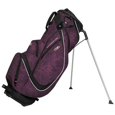 Ogio Featherlite Luxe Golf Stand Bag - Black/Purple