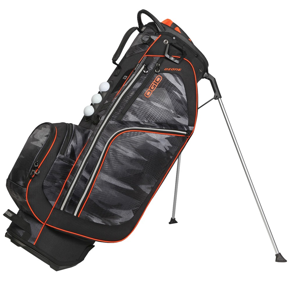 Ozone Golf Stand Bag Camoblack
