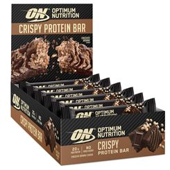 Optimum Nutrition Crispy Protein Bar - Pack of 10