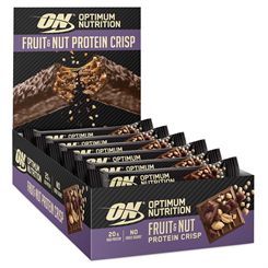 Optimum Nutrition Fruit and Nut Crisp Protein Bar - Pack of 10