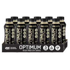 Optimum Nutrition High Protein Shake 330ml - Pack of 10