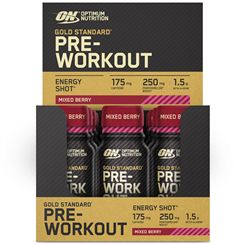 Optimum Nutrition Pre-Workout Energy Shot - Pack of 12