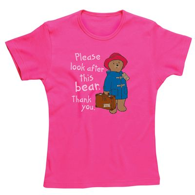 Paddington Bear Look After This Bear Skinny Fit T-Shirt