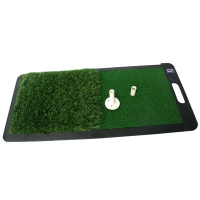 PGA Tour 2 in 1 Dual Turf Golf Practice Mat - Image 1