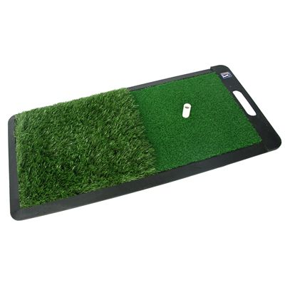 PGA Tour 2 in 1 Dual Turf Golf Practice Mat - Image 2