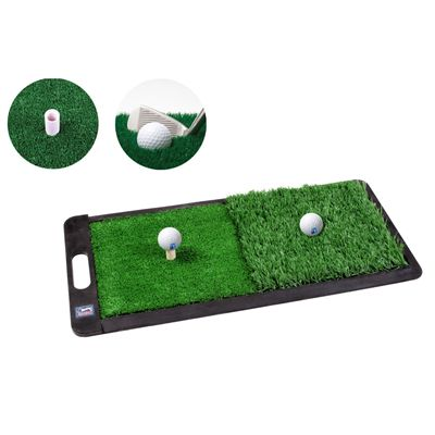 PGA Tour 2 in 1 Dual Turf Golf Practice Mat - Image 3