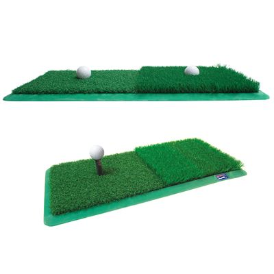 PGA Tour 2 in 1 Dual Turf Golf Practice Mat - Image 4