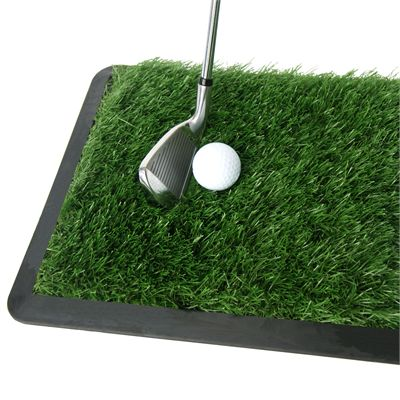 PGA Tour 2 in 1 Dual Turf Golf Practice Mat - Image 5