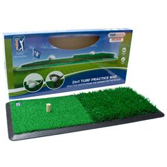 PGA Tour 2 in 1 Dual Turf Golf Practice Mat