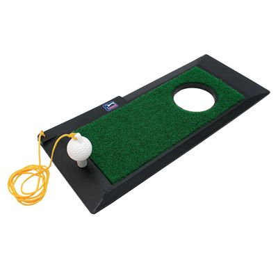 PGA Tour 3 in 1 Golf Practice Mat - Image 1