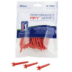 PGA Tour 55mm Low Friction Tees - Pack of 30