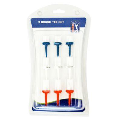 PGA Tour Brush Tees - Pack of 9
