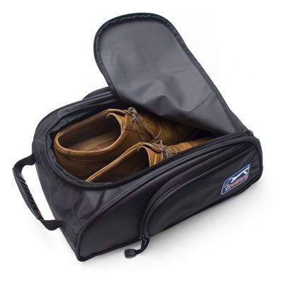 PGA Tour Shoe Bag and Cleaning Accessories Set - Open Bag