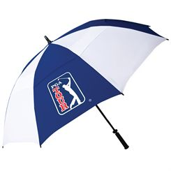PGA Tour Windproof Double Canopy Umbrella