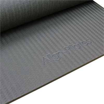 Pilates Mad Align-Pilates 10mm Studio Mat with Eyelets - Zoom