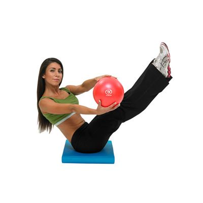 Pilates Mad Exer-Soft Ball 9in - In Use Image 1