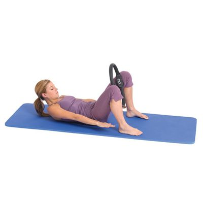 Pilates Mad Pilates Resistance Ring - Double Handle In Use