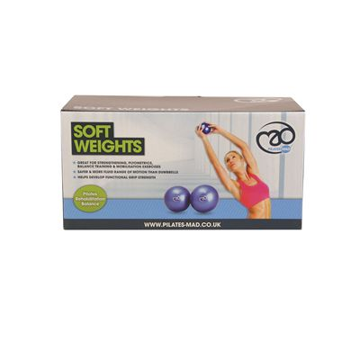 Pilates Mad Soft Weights 2 x 1.5kg