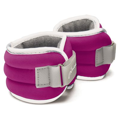 Pineapple 2 x 1.13kg Comfort Fit Wrist and Ankle Weights