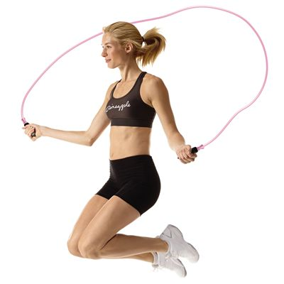 Pineapple Deluxe Skipping Rope In Use