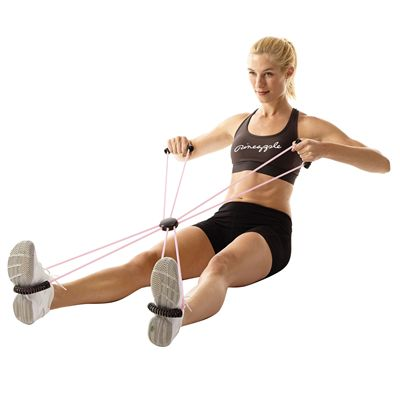 Pineapple Home Gym Body Exerciser - In Use2