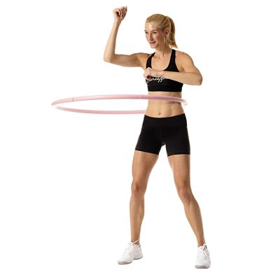 Pineapple Weighted Hula Hoop In Use Image 3