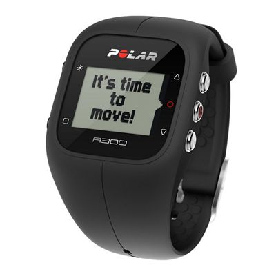 Polar A300 Fitness and Activity Monitor-Black-Angle View